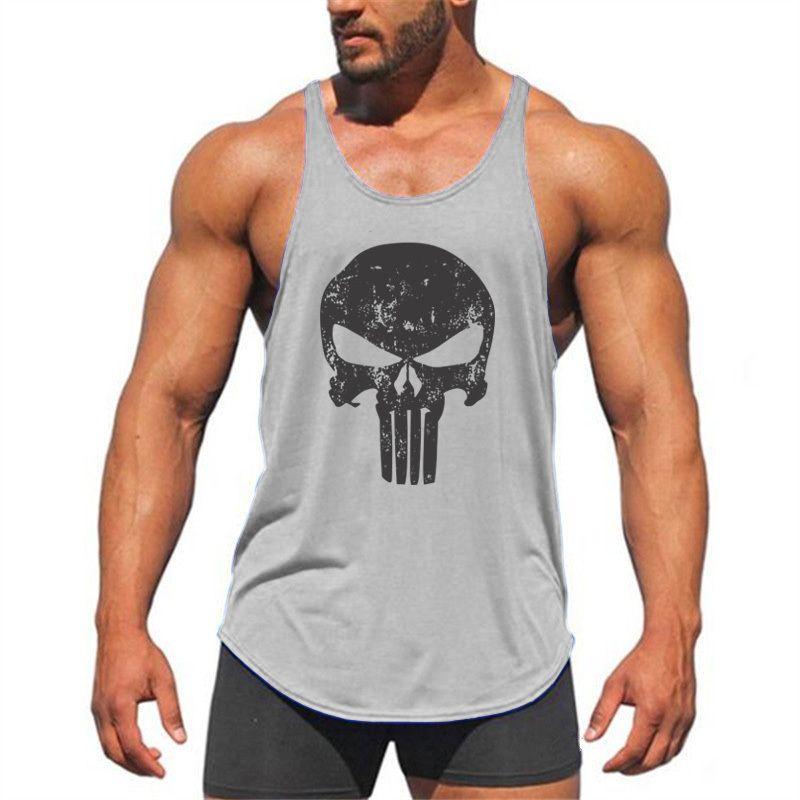 5ccde25f1c5bc3 Marke Stringer Tank Top Männer Bodybuilding Kleidung Und Fitness Herren  Ärmelloses Shirt Westen Baumwolle Singuletts