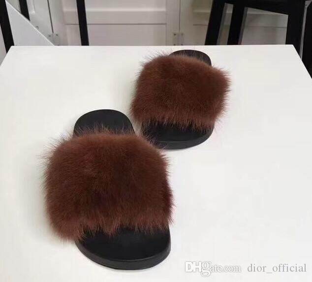 Comprar pelo primavera visón nuevo de de zapatillas de de lujo estilo 76Yfgbyv