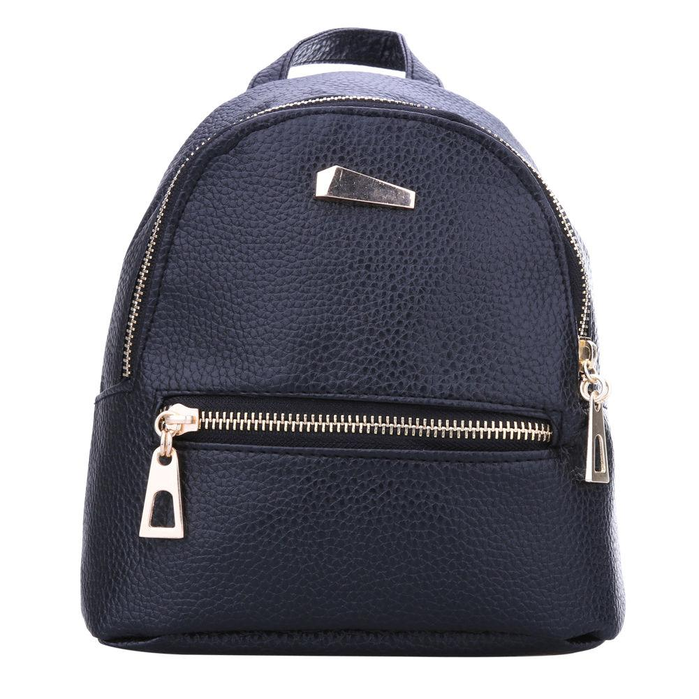 42634c6e6215 Women Leather Backpack Children Backpack Candy Color Korea School Style  Student Mini for Teenage Girls New Style