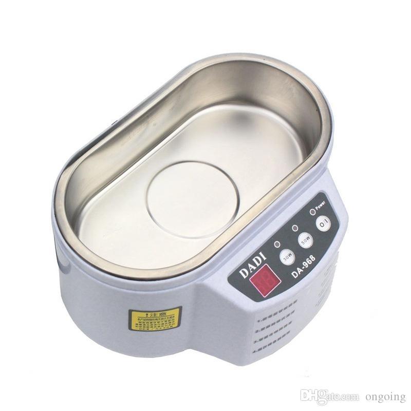 Limpiador ultrasónico inteligente de alta calidad para joyería Gafas Placa de circuito Máquina de limpieza Control inteligente Limpiador ultrasónico Baño 30W / 50W