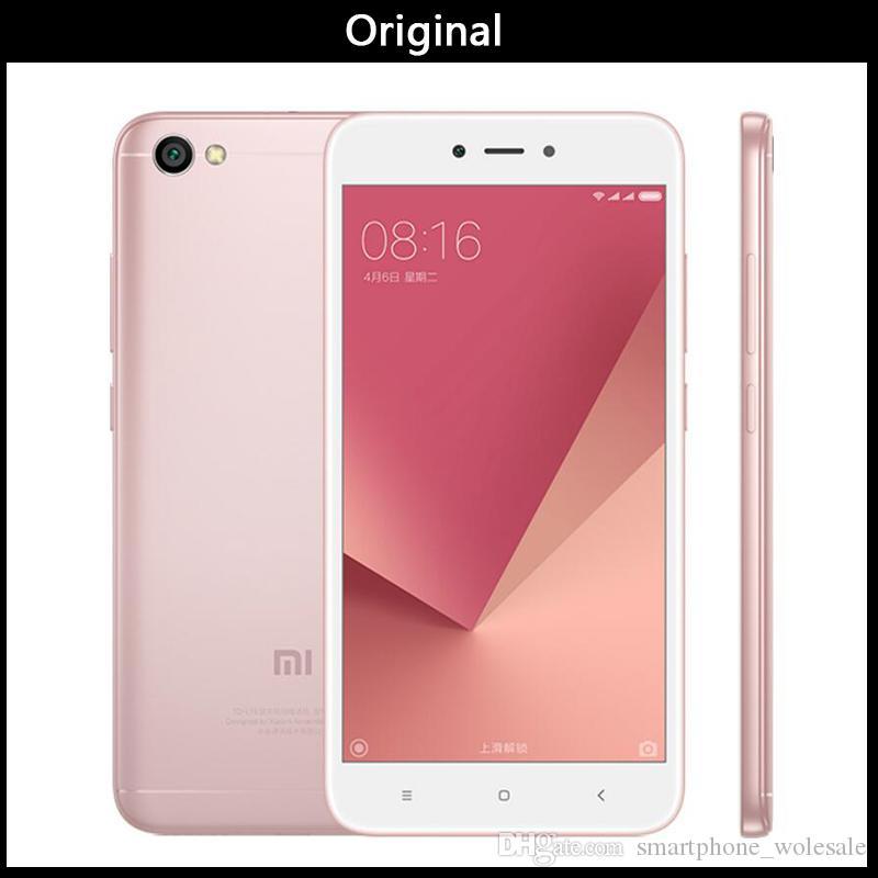 Wholesales Original Xiaomi Redmi Note 5A 5 A 64GB 4GB RAM Mobile Phone  Snapdragon 435 Octa Core 16MP Front Camera 5 5 Fingerprint MIUI 9
