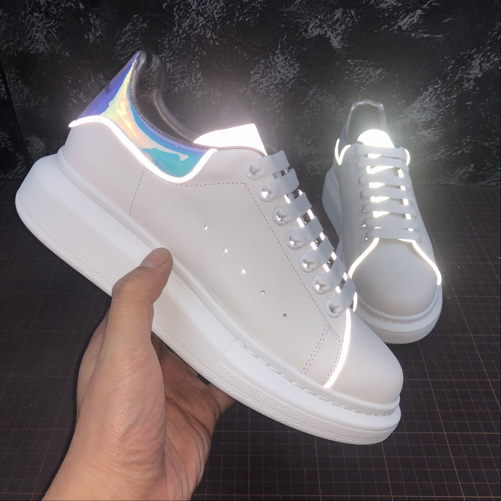 finest selection f5f31 a1492 Alexander McQueen 3M Reflective men and women shoes sneakers 1size fashion  luxury scarpe designer uomo donna sandali scarpe sneakers femmes ...