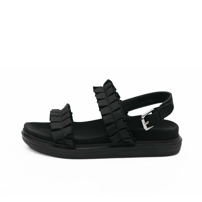 Acheter Sandales Chaussures Pour À Femmes D'été Semelles Compensées WEH92DIY