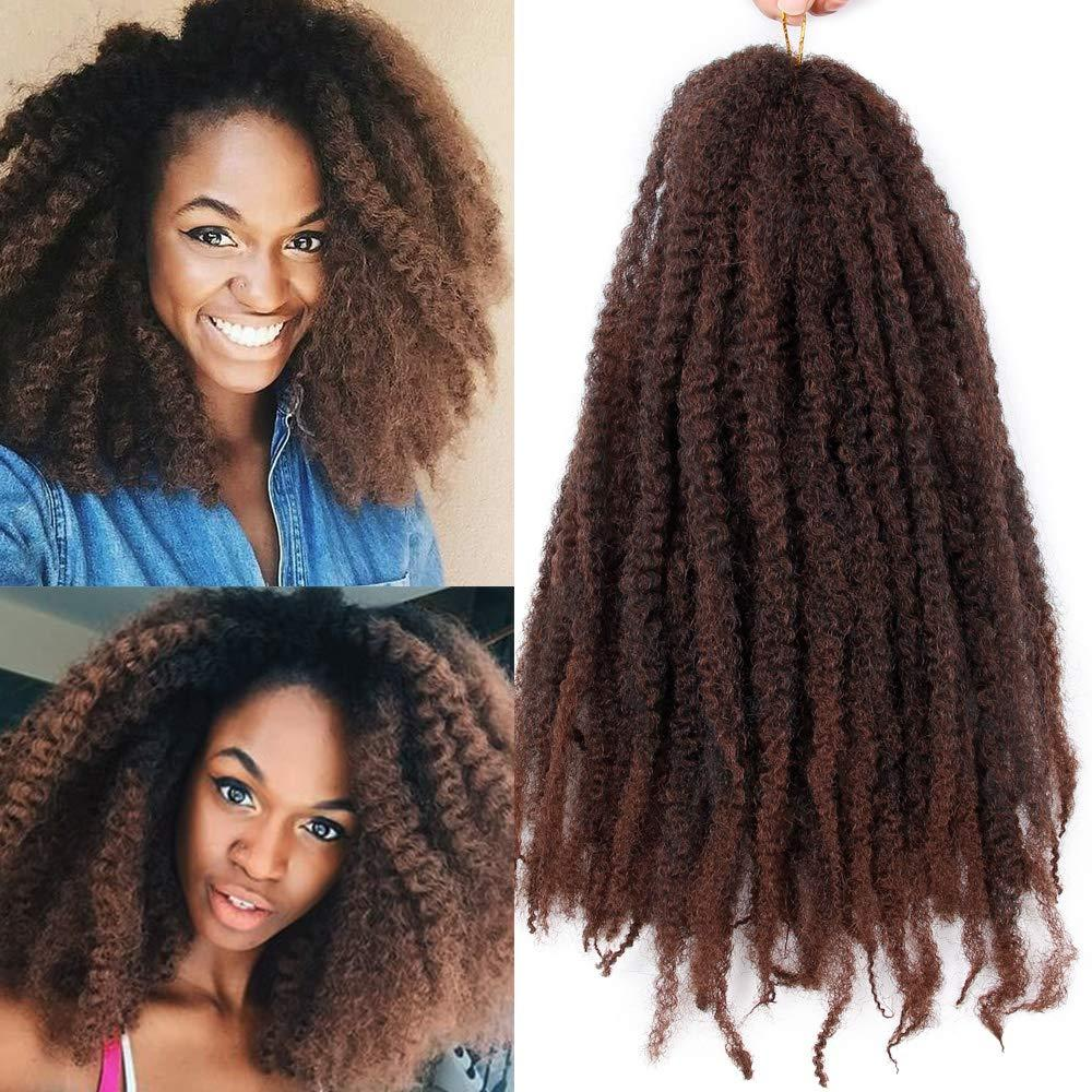2019 Hot Marley Braiding Hair Afro Marley Hair Crochet Braids