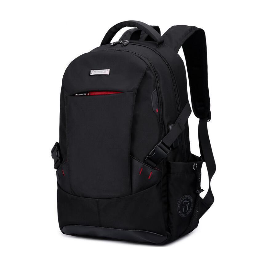 4aee3cbe628b Men Backpack School Bags For Boys School Backpack Men Travel Bags Schoolbag  Shoulder Bags For Kids Bagback Black Laptop Bag 15.6 Shoulder Bags For Men  Men ...