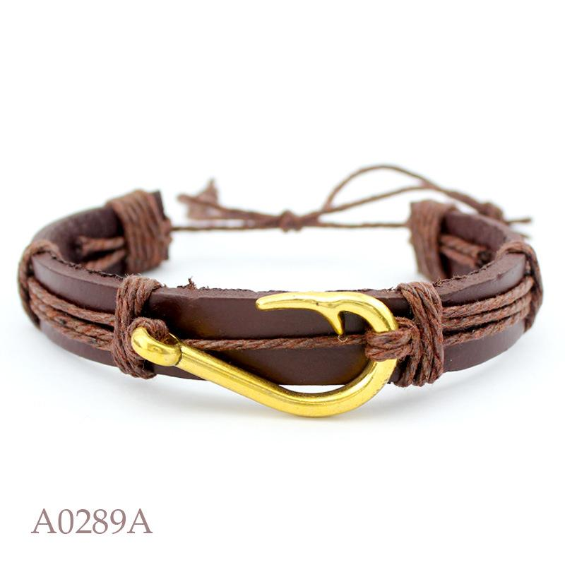 Boho Black Red Childrens Mens Adjustable Best Friend Believe Braid Rope Leather Bracelet Wristband For Women Gift Wholesale Charm Bracelets Bracelets & Bangles