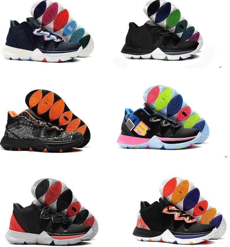 d7ba07e25a53 Kids Shoes Kyrise 5 V Taco Orange Black Magic Rainbow Multicolor Big Boys  Girls Grade School 5s Basketball Shoes Sneakers 36 40 Toddler Tennis Shoes  Boys ...