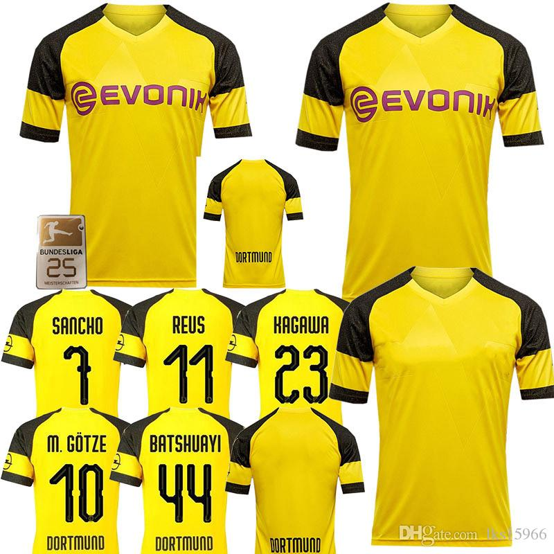 low priced 38a0f b7199 Borussia Dortmund Jerseys Thailand Soccer Jerseys 44 Batshuayi 8 GUNDOGAN  21 Schurrle 9 YARMOLENKO customizable Breathable fabrics
