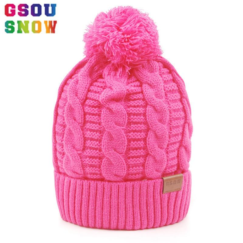c7f5f594 GSOU SNOW Winter Men Women Keep Warm Ski Hat Cotton Thicken Snowboard Hats  Outdoor Monutain Hiking Camping Knitted Caps C18112301 Cowboy Hats Stetson  Hats ...