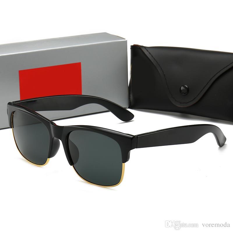 d292be0add Compre Lente De Vidrio 2019 Con Gafas De Sol Polarizadas UV400 Vintage RAY  R4189 Gafas De Sol Wayfarers De La Marca Occhiali Da Sole Hombres Mujeres  BEN ...