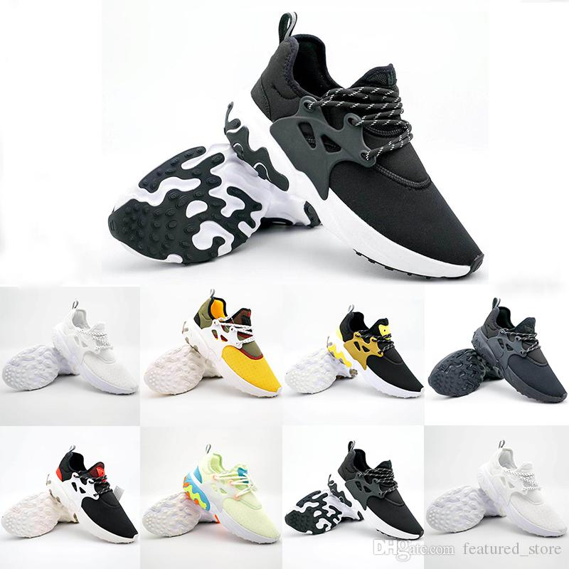 a6ddec103721 2019 Newest Presto Mid Epic React Men Women Running Shoes Comfortable Foot  Feel Mesh Breathable Sneakers Black White Casual Shoes 36 45 Womens Running  Shoes ...