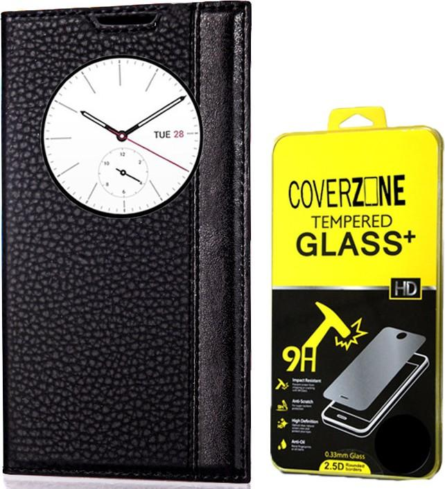 CoverZone coverzo the Asus Zenfone ZS570KL 3 Cases Leather + Unique Quick Window Glass Ship from Turkey HB-001601852