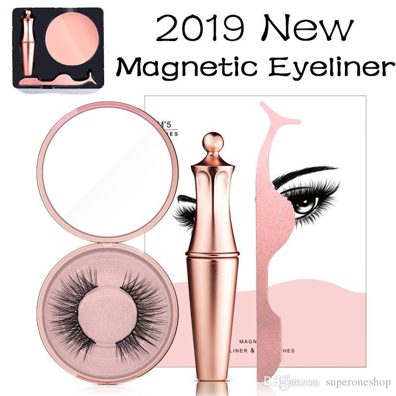 889d4301c19 2019 New Hot Makeup Set Magnetic Liquid Eyeliner & Magnetic False Eyelashes  & Tweezer Set Waterproof Long Lasting Eyeliner False Eyelashes Makeup Store  Free ...