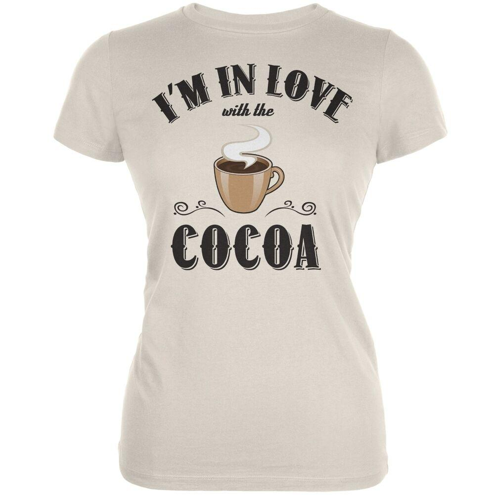 In Love With The Cocoa Cream Juniors Soft T-Shirt 3Men Women Unisex Fashion tshirt Free Shipping Funny Cool Top Tee Black