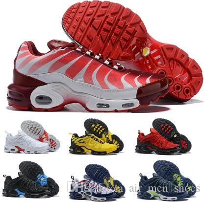 ecd1160eeae1 Plus Tn Se Trainers Running Shoes Sneakers 2019 Tns Triple Red Tartan  Before After NYC Men Man Women Woman Zapatos Hombre Sports Shoes Trail  Running Shoes ...