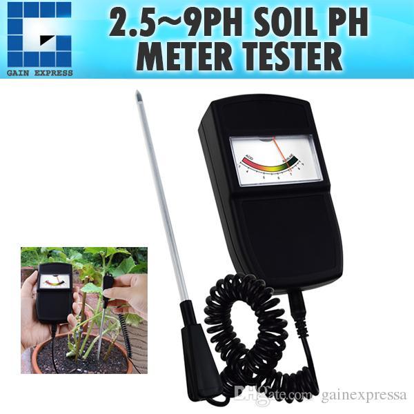 Acheter SQM 258 Type De Pointeur Sonde PH Mètre De Sol Avec Sonde ...