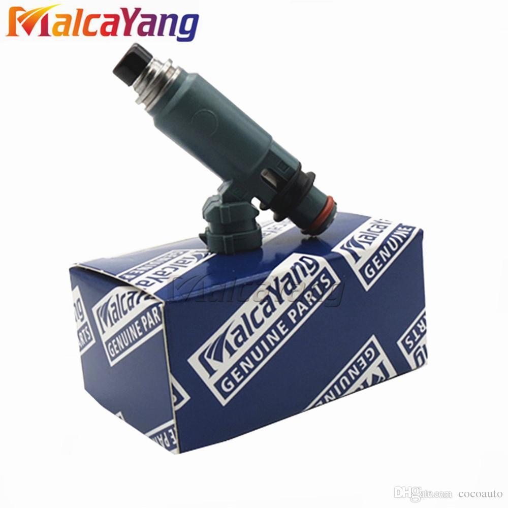 4PCS Blue Turbo Fuel Injectors 16611-AA521 440CC for 02-05 Subaru Impreza  2 0L IMPREZA WRX STI 2 0 EJ20 2 5 EJ25 195500-3920