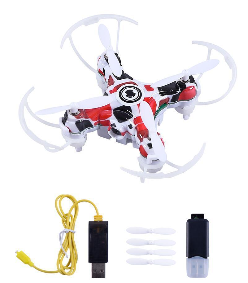 2.4G Mini RC Quadcopter Drone Camera HD Video RTF Quadcopter Drones Remote Control Helicopter E905 Airplane Novelty Toys GGA1418