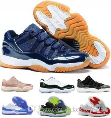 reputable site 9edfb 2fc20 Großhandel 2019 Space Jams 11 11s Basketballschuhe Sneaker Low Männer  Frauen Navy Bred Emerald Concord Barons Infrarot XI Unisex Airing Baskets  Ballschuhe ...