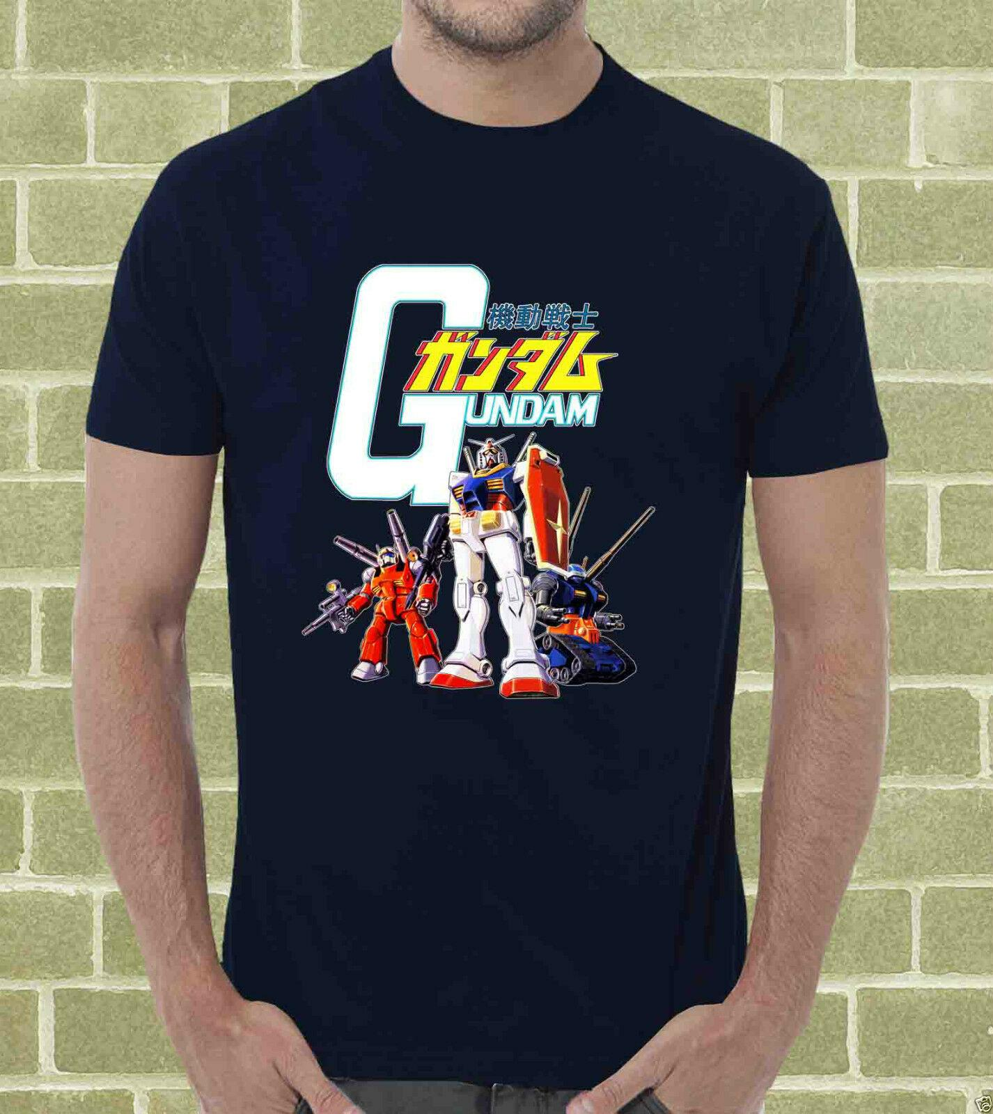 T Uomo 80 E Divertente Cartoon Gundam Acquista Shirt Bambino Anni trCxshQd