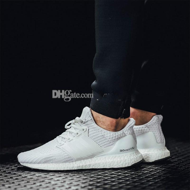 huge selection of 58c53 54b5e 3A Ultra Boost 2.0 3.0 4.0 UltraBoost men running shoes sneakers women  designer Sport UB CNY Dog Snowflake Core Triple Black All White Grey