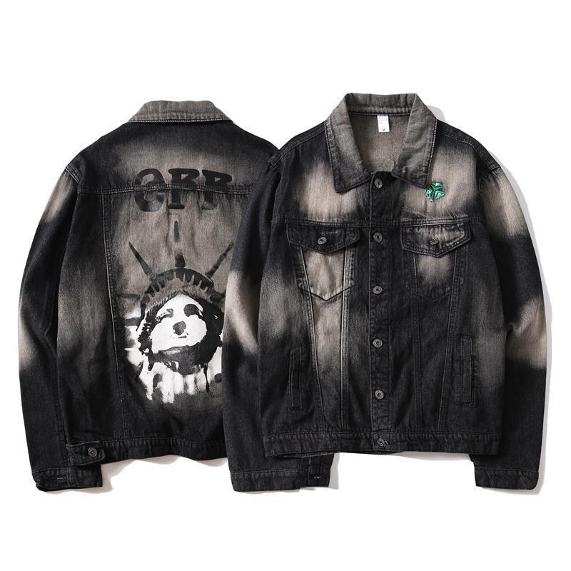 New Denim Jacket Men High Quality Mens Designer Jackets Off Fashion