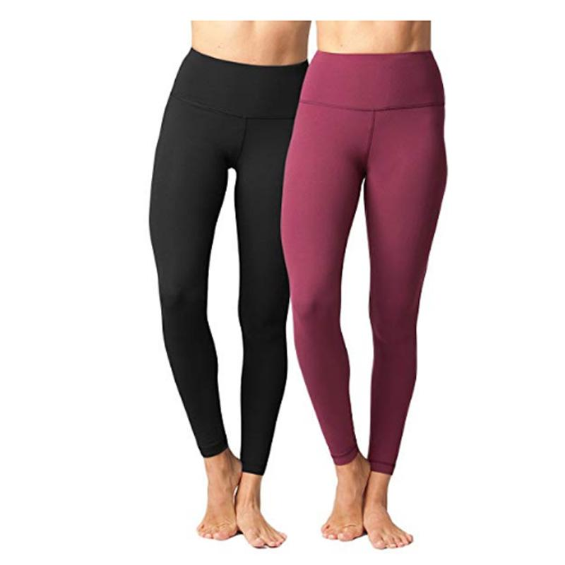 Pants For Sporthose Damen Length High Waist Sports Jogger Yoga Trousers Women Running Tights Leggings C19041702