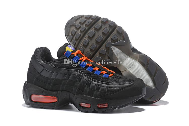 Stylish Women Mens 95s Shoes 95 Sneakers Discount Best Blue Black Red Pink  Yellow White Sports Shoes For Sale Womens Running Trainers Shoes Shop From  ... e252ae20c