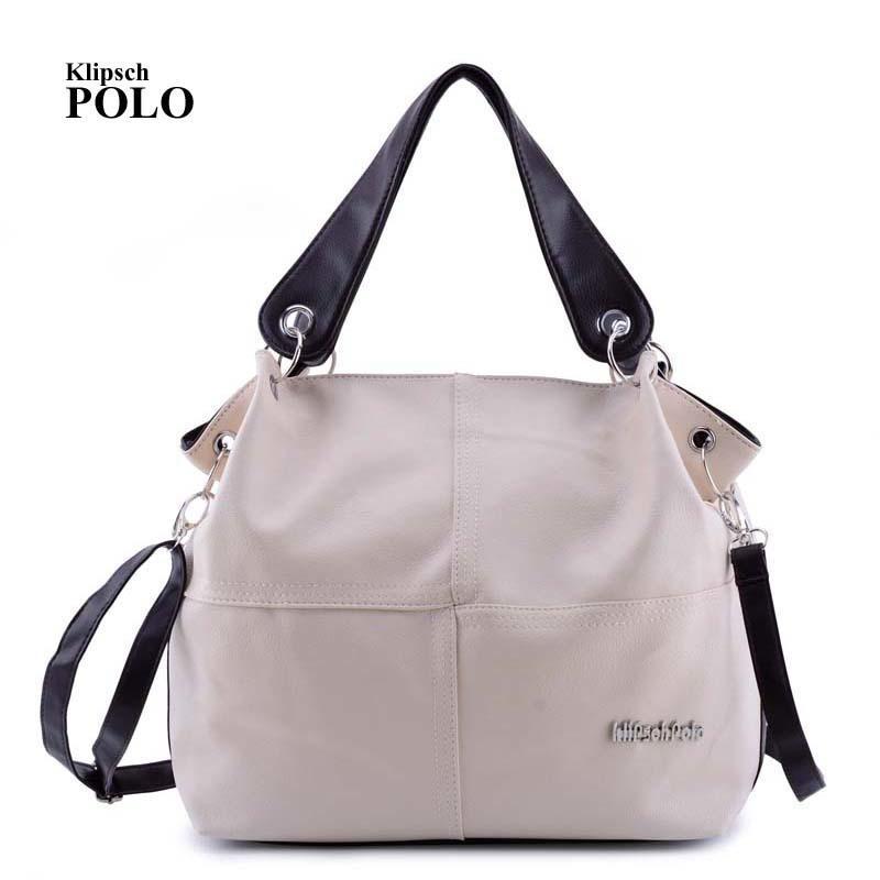 5ac92d5f0e KLIPSCH POLO Designer Women Handbag Female PU Leather Bags Handbags Ladies  Portable Shoulder Bag Office Ladies Hobos Bag Totes Mens Messenger Bags  Mens Bags ...