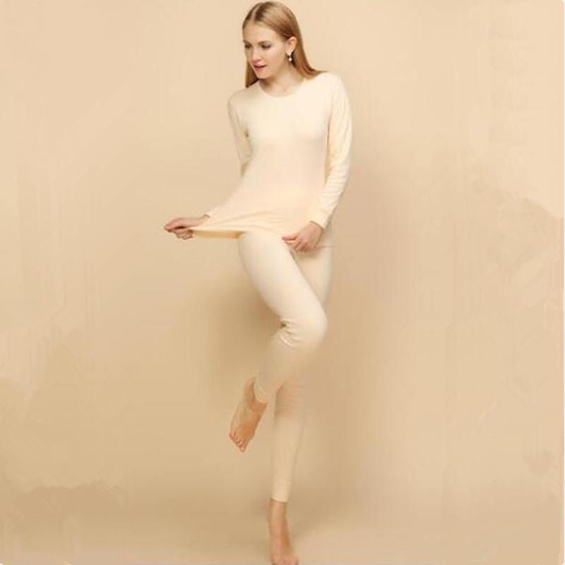 9910134d7 Tide Fashion Russia China Style Women Thermal Underwear Sets Casual Long  Johns Suits Pink Red Elasticity Cotton Blending Warm Long Underwear