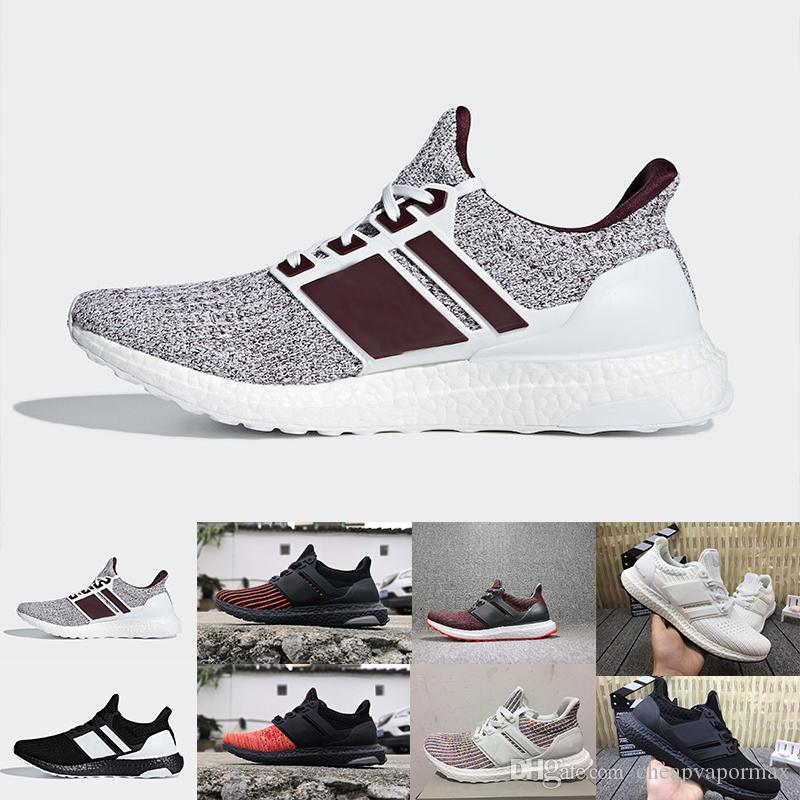 2306f00e178 UltraBoost 4.0 Orca White Burgundy Triple Black White Camo House Targaryen  Dragons Candy Cane Primeknit Men Women Shoes Ultra Boosts Shoes Mens Shoes  Online ...
