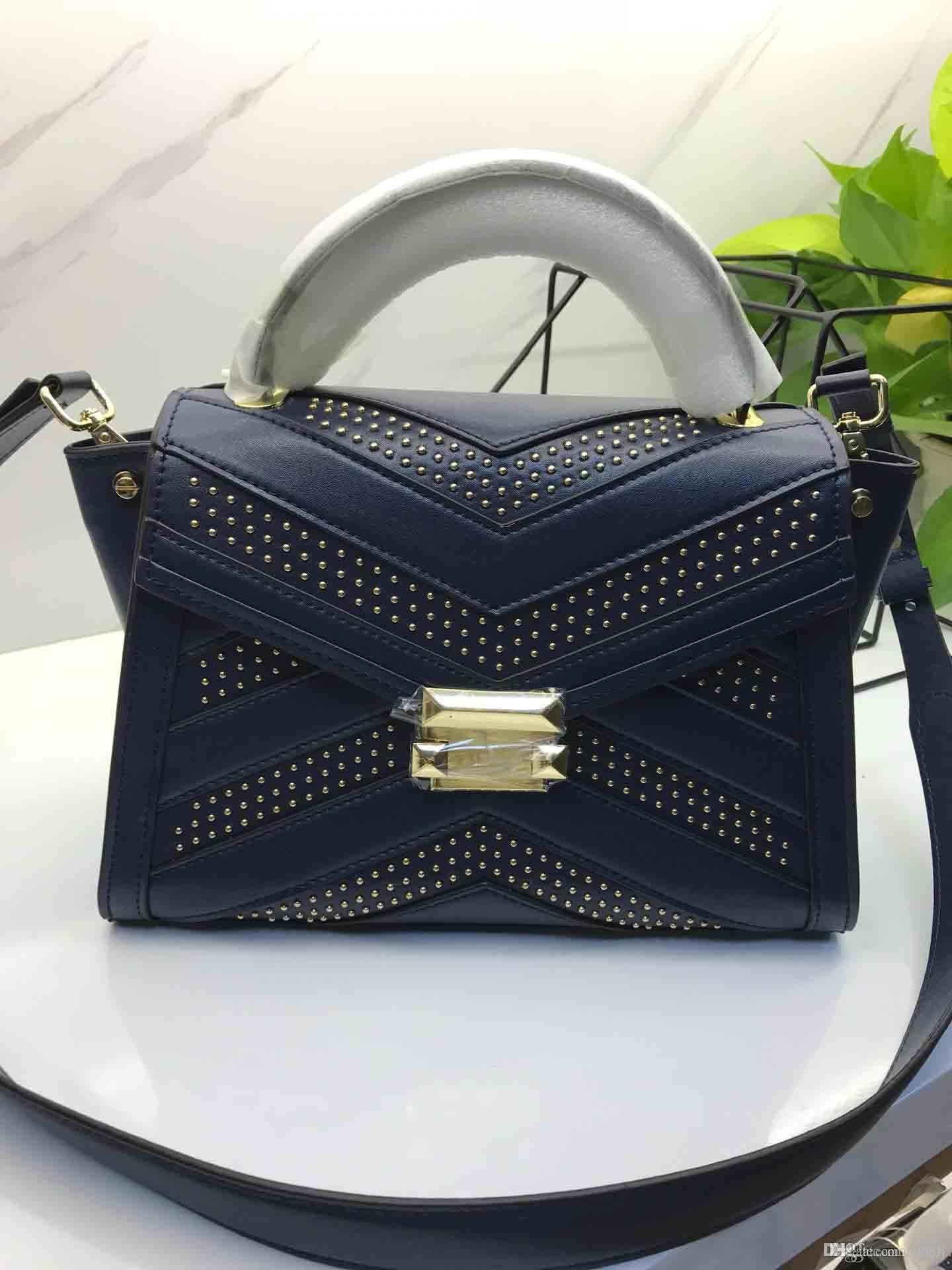 New Lady Rivet Handbag 2019 New Designer Bag One To One Fashion Luxury Wild  Number  3839. Beach Bags Designer Bags From Adhxh,  299.5  DHgate.Com ed5a6df2aa