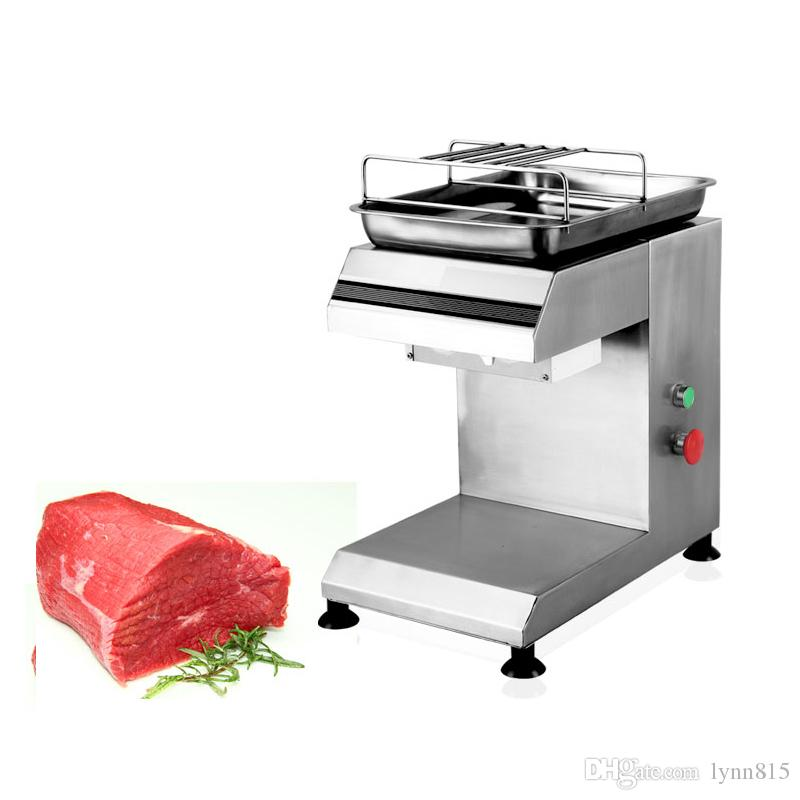 220V 110V Commercial Meat Cutter Slicer Machine Stainless Steel Meat Slicing Machine Meat Shredded Diced machine2-25mm Thickness