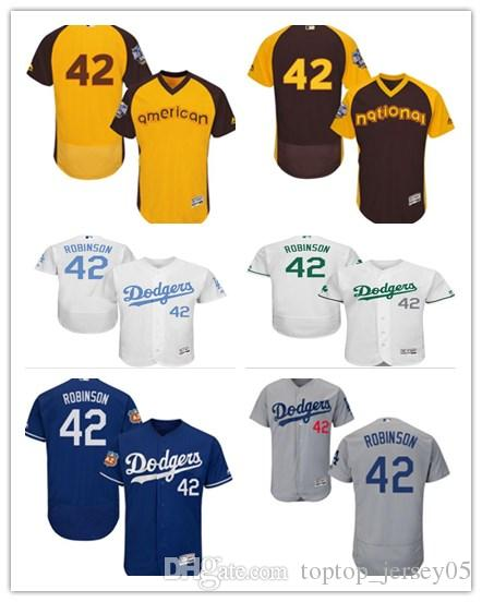 2019 2018 Los Angeles Dodgers Jerseys  42 Jackie Robinson Jerseys Men  WOMEN YOUTH Men S Baseball Jersey Majestic Stitched Professional  Sportswear From ... 5b9e73d7e18