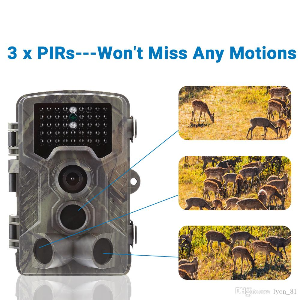 Infrared Trail Cameras with night vision motion activated 1080P full HD  game camera IP66 waterproof nest cam outdoor