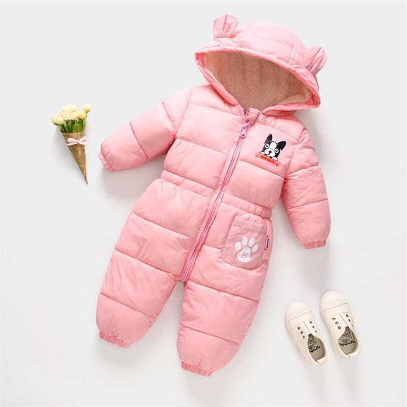 156572397fbd Good Quality Newborn Baby Boys Romper Winter Newborn Baby Girls ...