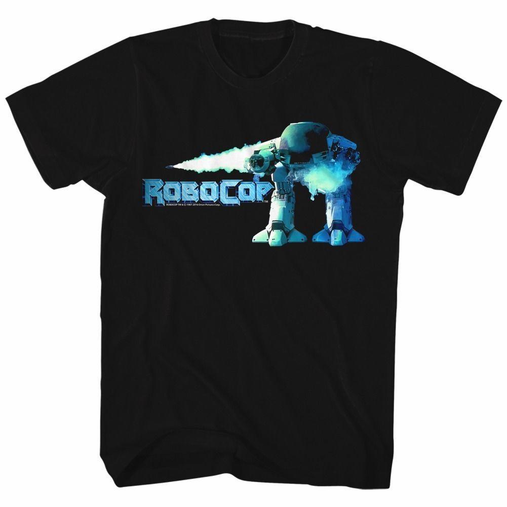 a088869e4 Robocop Movie Ed 209 Licensed Adult T Shirt Cool Casual Pride T Shirt Men  Unisex Fashion Tshirt Funny Tops Skull T Shirts Tea Shirt From  Designtshirts201805 ...