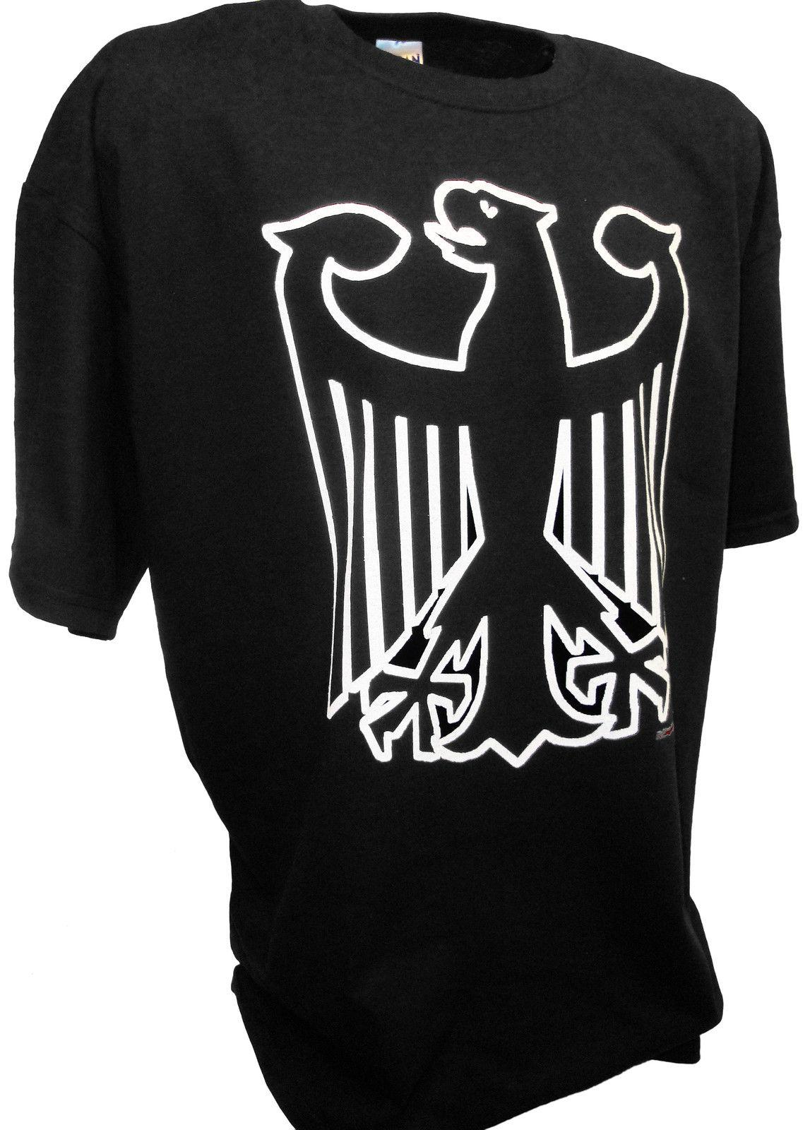 Germany World Cup Soccer Flag Crest German Eagle Pride Mens Hoodie Sweatshirt