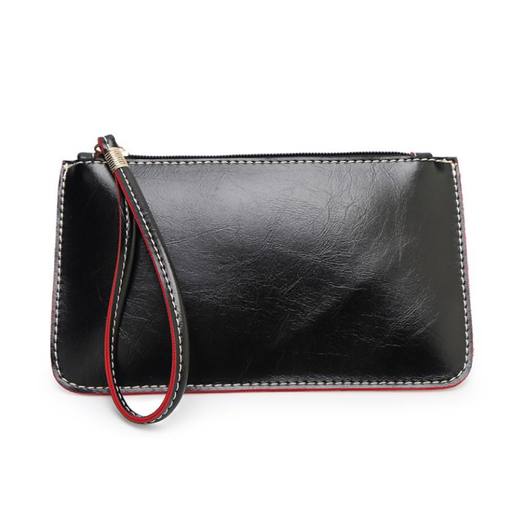 Women purses handbags solod zipper mini Lady Envelope Clutch Tote Bag Clutch Casual phone Purse Shoulder Bag bolsa feminina new