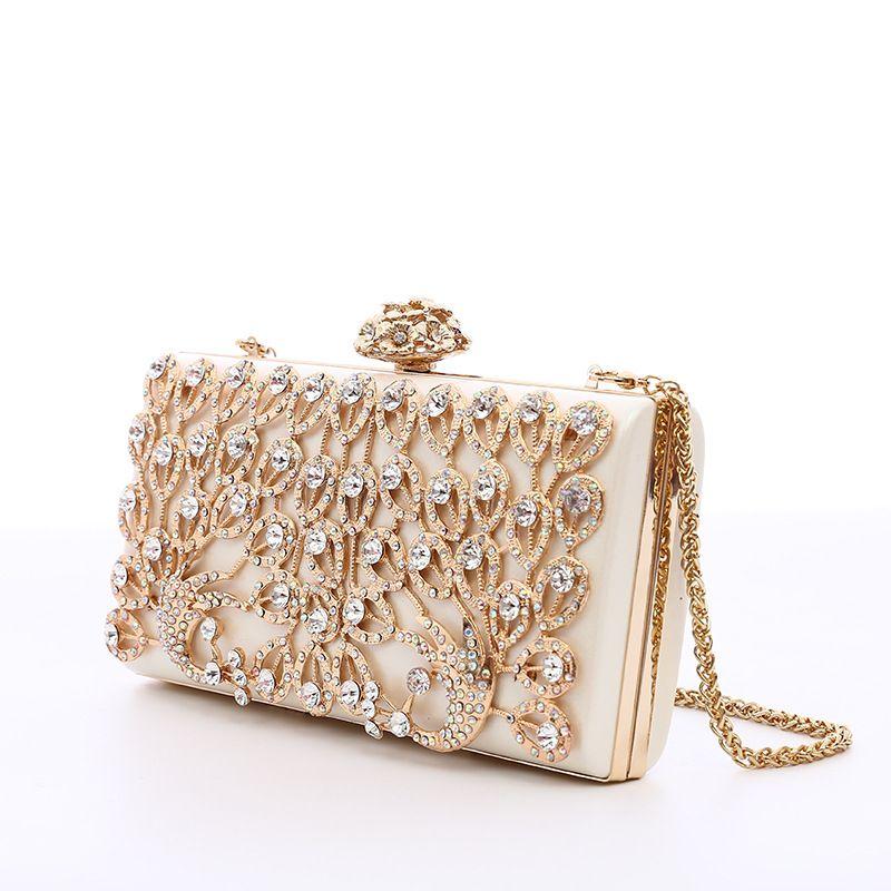372d51b7c1c Pink Sugao Crystal Luxury Evening Bag Bling Party Purse Diamond Boutique  Gold Silver Women Wedding Day Clutch Bag Shoulder Fashion Handbag Discount  Handbags ...