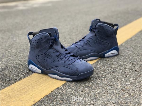 new york 244e9 35093 Nuove Scarpe Da Calcio Nike Air Jordan Jordans Retro 6 Top Quality Jumpman 6  VI Jimmy Butler Mens Scarpe Da Basket Retrò Designer Nuove 6s Scarpe Da ...
