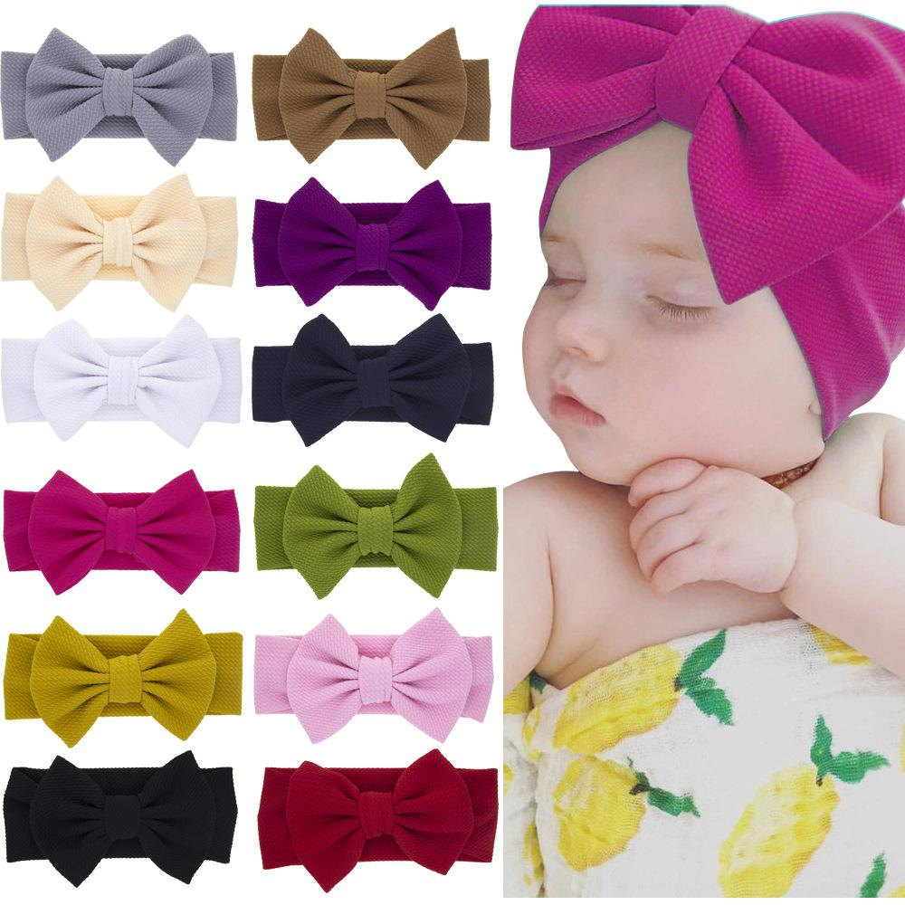 Cute Flower Kids Baby Girl Toddler Headband Hair Band Headwear Accessories 2019 New Fashion Style Online Hair Accessories