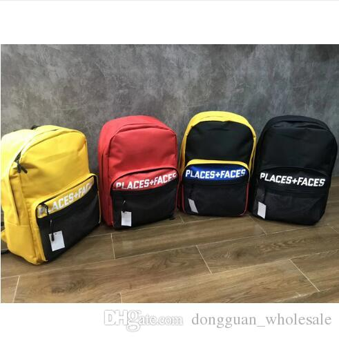 19ss Places+Faces Autumn Winter Casual Hip Pop Style Mens Backpack Style Men  Military RBackpacks Style Backpacks Backpack Travel Bolsas Online with ... dd14c33aea