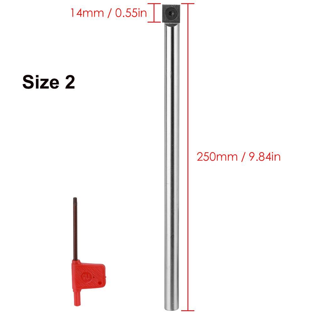 Multifunktionale Vollhartmetalleinsatz Cutter Round Shank Holzbearbeitungswerkzeug Legierung Griff Drehwerkzeuge