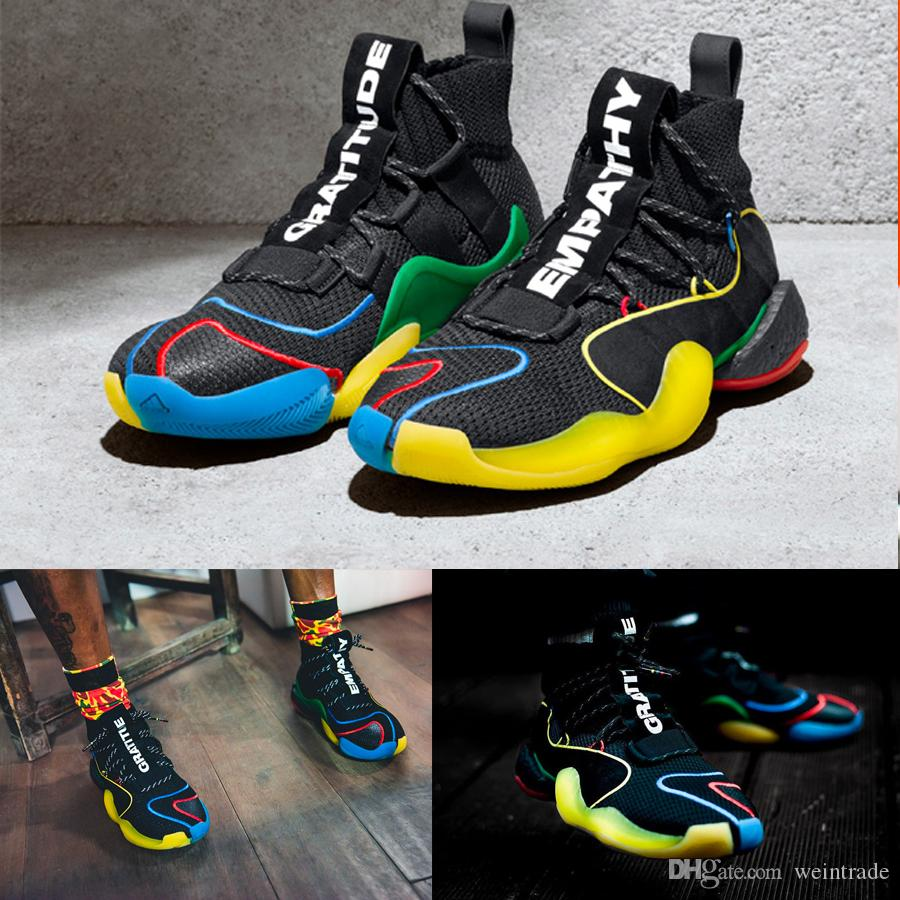 e40729403bc 2019 New Basketball Shoes Harden Shoes VIP Pharrell X Crazy BYW MVP  Gratitude Empathy Originals Wall Way Size 40-46 Online with  136.65 Piece  on Weintrade s ...