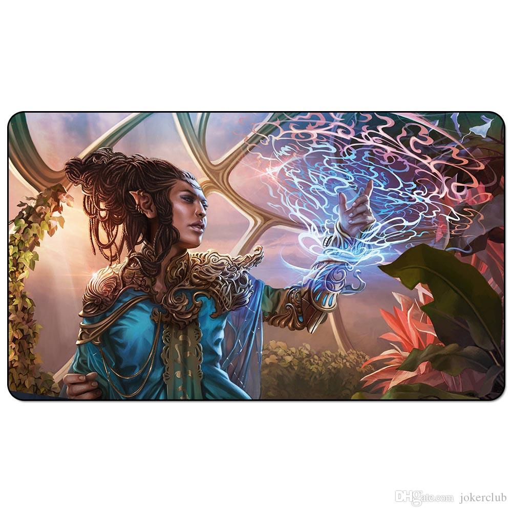 Magic trading card game Playmat Kaladesh Aether Revolt art playmat for trading card game 60cm x 35cm