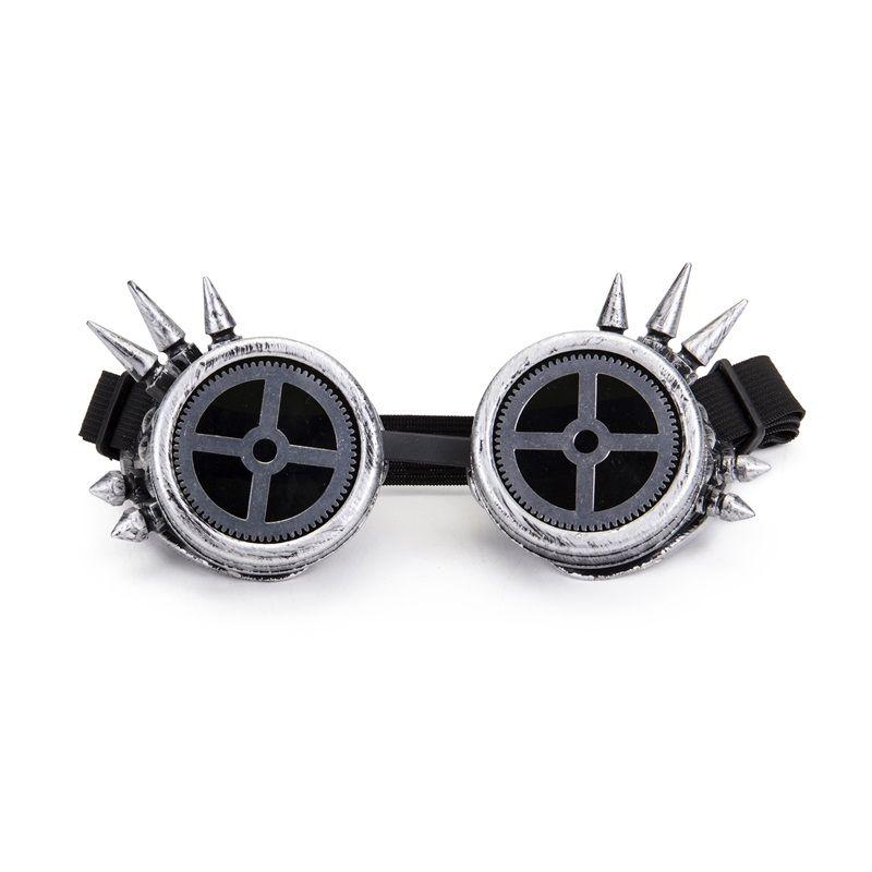 colore ROSSO 1x paio LENTI per Occhiali Steampunk Goggles
