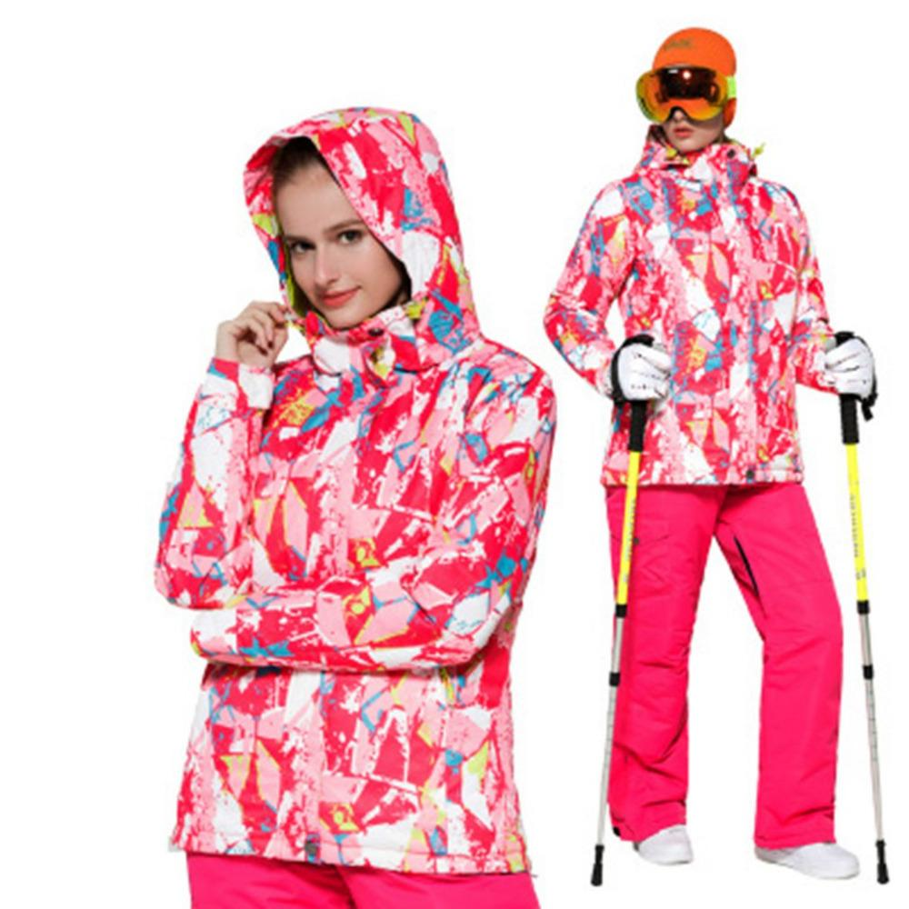 2019 S XXL Ski Suit Women Winter 2018 Waterproof Thicken Warm Snow Clothes  Women Ski Sets Jacket Skiing And Snowboarding Suits From Cbaoyu 8886dfafa