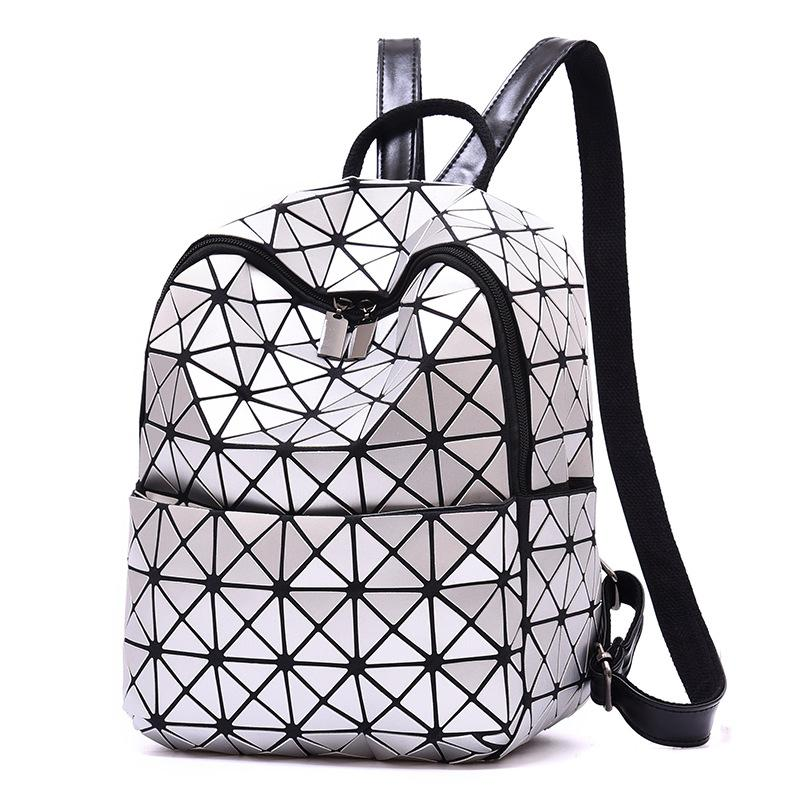 01 New Geometric Pattern Backpack High Quality Large Capacity Women Leisure  Trend Backpack Three Colors Available Online with  16.24 Piece on Yiwugo s  Store ... 7bcfdce256a26