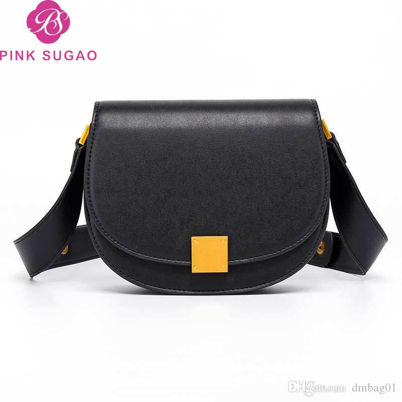 cc3cad4df9b Pink sugao designer luxury handbags purse designer women shoulder bags 2019  new fashion hot sales crossbody bag top quality small saddle bag